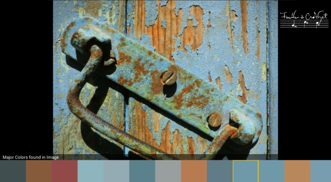 Colors inspiration - Old Rusty Door in Provence by SMb photographie